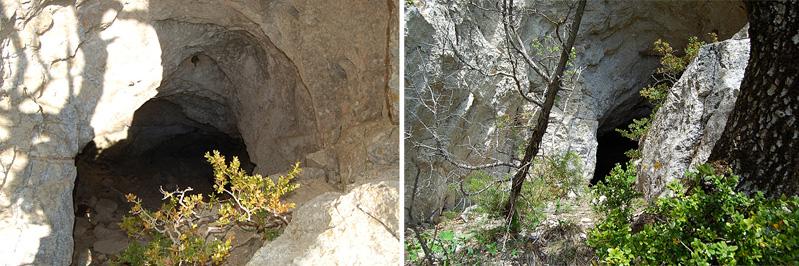LA ROCHE-BUIS Grotte des Loubes+Mathieu